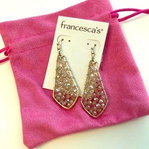 NWT Francesca's Chandelier Earrings
